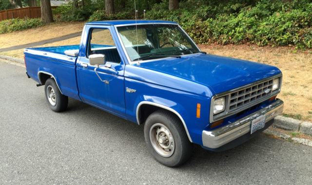 Ford Ranger 1983 Blue For Sale  1ftcr10p8dub60681 1983
