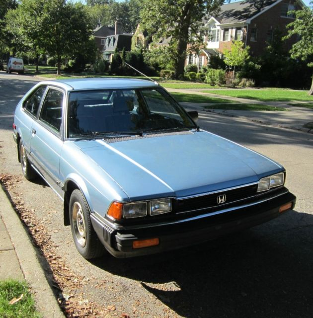 1983 Honda Accord Auto 2 Door Hatchback 30 Mpg Very Clean 51 000 Original Miles