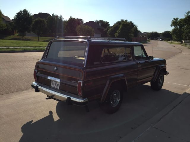 jeep cherokee wagon 1983 brown for sale 1jcnj17d4dt058522. Black Bedroom Furniture Sets. Home Design Ideas