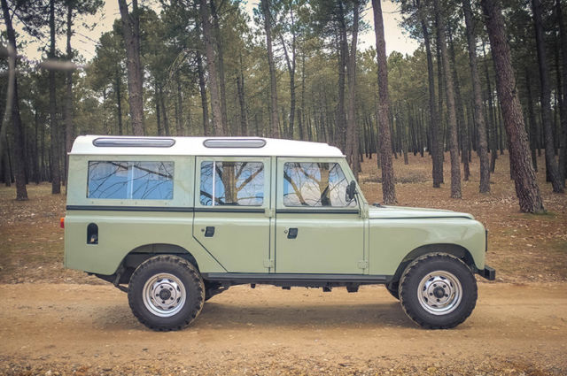 land rover defender suv 1983 green for sale. Black Bedroom Furniture Sets. Home Design Ideas