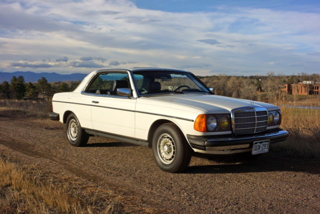 Mercedes Benz 300 Series Coupe 1983 White For Sale