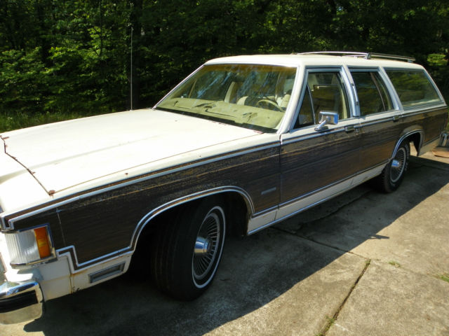 1983 mercury grand marquis station wagon images