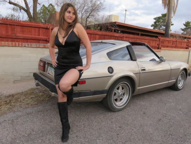 Datsun Z-Series Coupe 1983 Gold For Sale ...