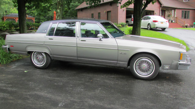 oldsmobile ninety eight sedan 1983 gray for sale. Black Bedroom Furniture Sets. Home Design Ideas