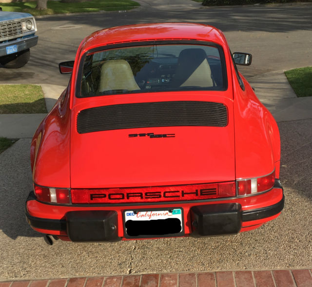Porsche 911 Coupe 1983 Red For Sale. WP0AA0918DS120684