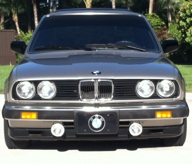 BMW 3-Series Coupe 1984 Bronzit Beige For Sale