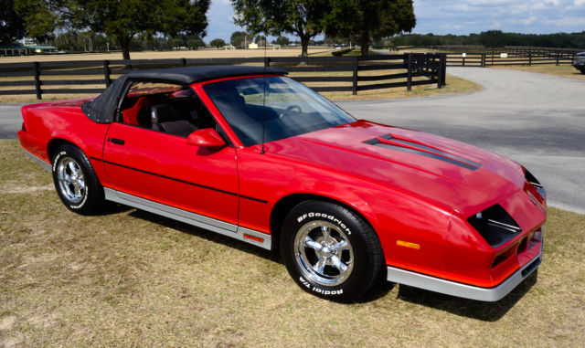 chevrolet camaro convertible 1984 red for sale 5fcle26a1b1000375 1984 camaro z28 two seater. Black Bedroom Furniture Sets. Home Design Ideas