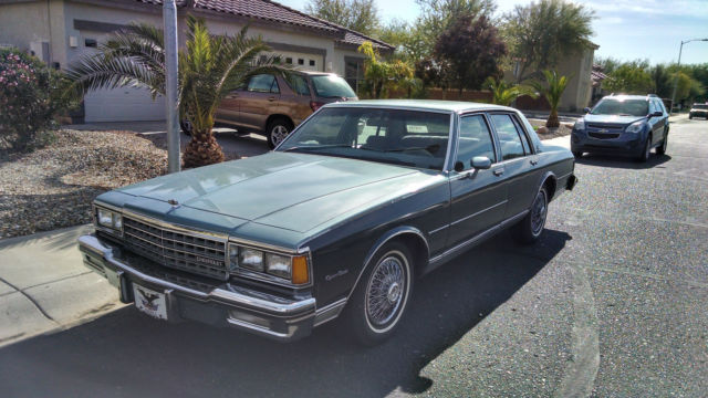Chevrolet Caprice Sedan 1984 Blue For Sale ...
