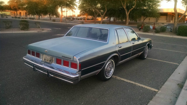 Chevrolet Caprice Sedan 1984 Blue For Sale