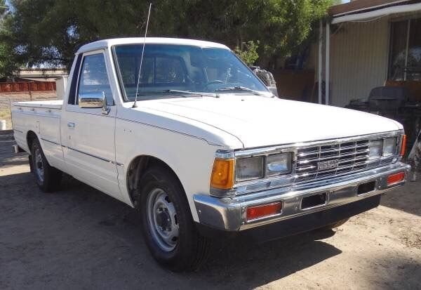 Nissan Other Pickups Standard Cab Pickup 1984 White For