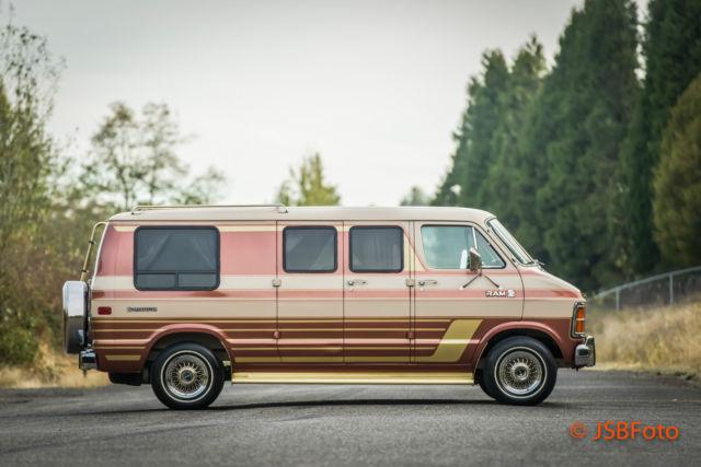 For Sale 1984 Dodge Ram Van B250