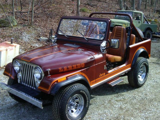 Jeep Cj Convertible 1984 Chestnut Brown Metallic For Sale