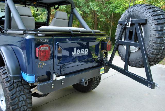 jeep cj 1984 blue for sale 1jccm87exet086214 1984 jeep cj7 renegade 4 speed 1 piece axles. Black Bedroom Furniture Sets. Home Design Ideas