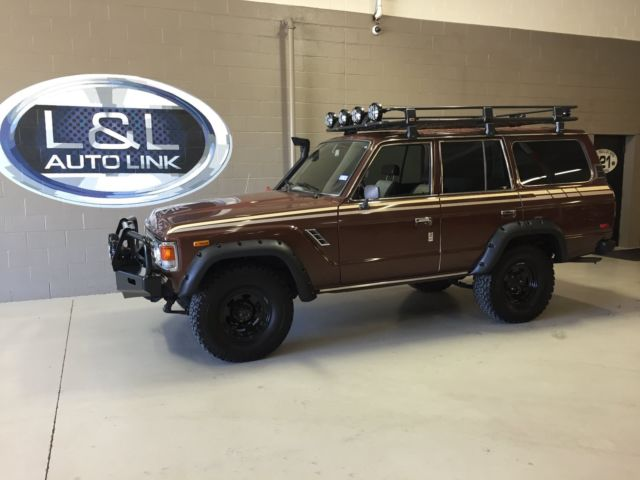 Toyota Land Cruiser Suv 1984 Brown For Sale