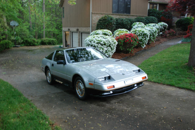 nissan 300zx hatchback 1984 silver for sale jn1cz14s3ex014531 1984 nissan 300zx turbo 50th. Black Bedroom Furniture Sets. Home Design Ideas