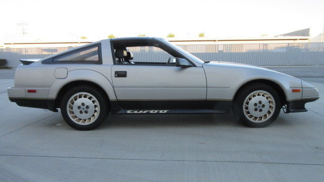 nissan 300zx coupe 1984 silver for sale jn1cz14s6ex009484 1984 nissan 300zx turbo 50th. Black Bedroom Furniture Sets. Home Design Ideas