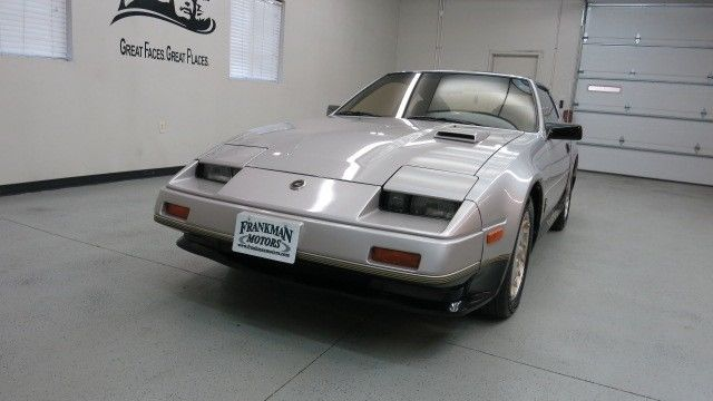 nissan 300zx coupe 1984 silver for sale jn1cz14s2ex015573 1984 nissan 300zx turbo 50th. Black Bedroom Furniture Sets. Home Design Ideas