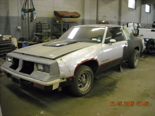 Oldsmobile Cutlass T TOPS 1984 Silver For Sale