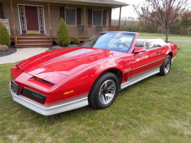 Middletown Ny Buick >> Pontiac Trans Am Convertible 1984 Red For Sale. 1G2AW87H0EN221335 1984 Pontiac Trans Am ...