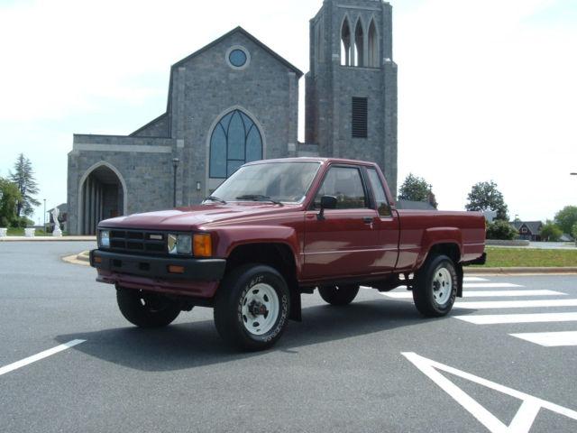 1984 toyota truck engine