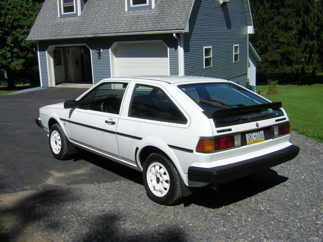 Volkswagen Scirocco Coupe 1984 White For Sale. WVWCA0531EK040175 ...