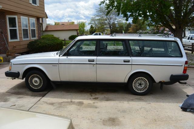 Volvo 240 Wagon 1984 Silver For Sale. YV1AX8856E1516132 ...