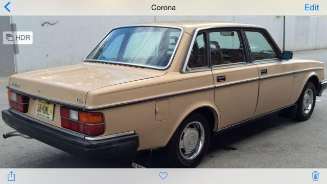volvo 240 sedan 1984 tan for sale yv1ax8844e1018745 1984 volvo 244 dl in very good condition. Black Bedroom Furniture Sets. Home Design Ideas