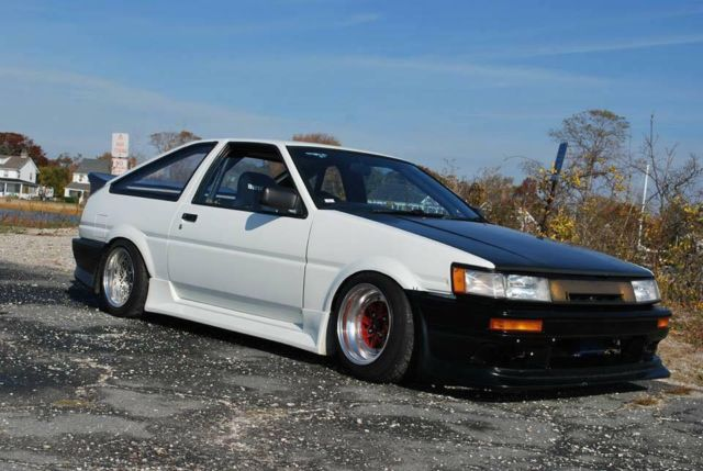 Toyota Corolla Hatchback Coupe 1985 White  Black For Sale