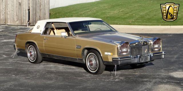 Cadillac Eldorado -- 1985 Gold For Sale  1G6EL5789FE628627 1985