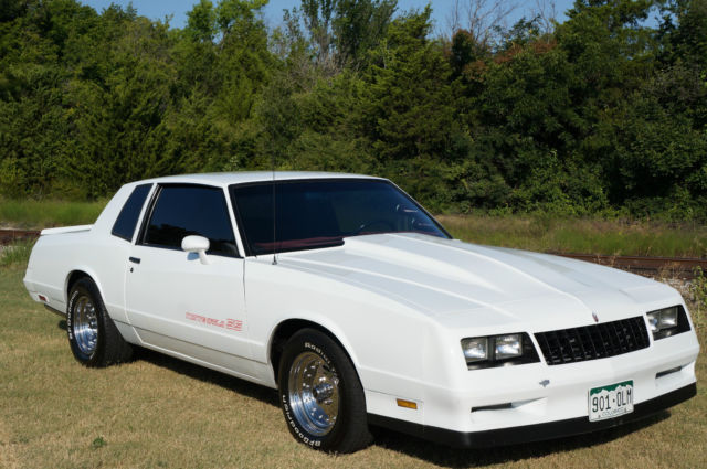 chevrolet monte carlo coupe 1985 white for sale 1g1gz37g0fr177251 1985 chevy monte carlo ss. Black Bedroom Furniture Sets. Home Design Ideas