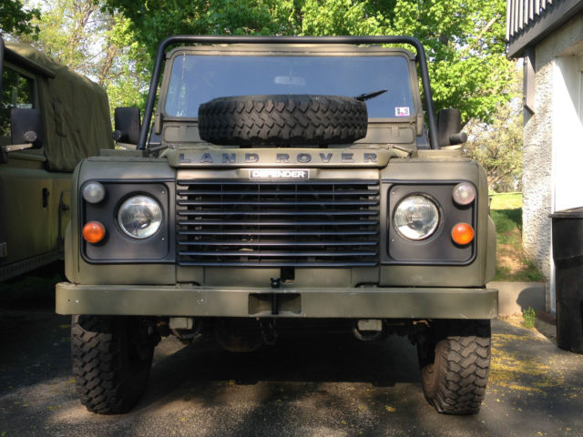 1985 Military Green Land Rover Defender 110 Hardtop - Www