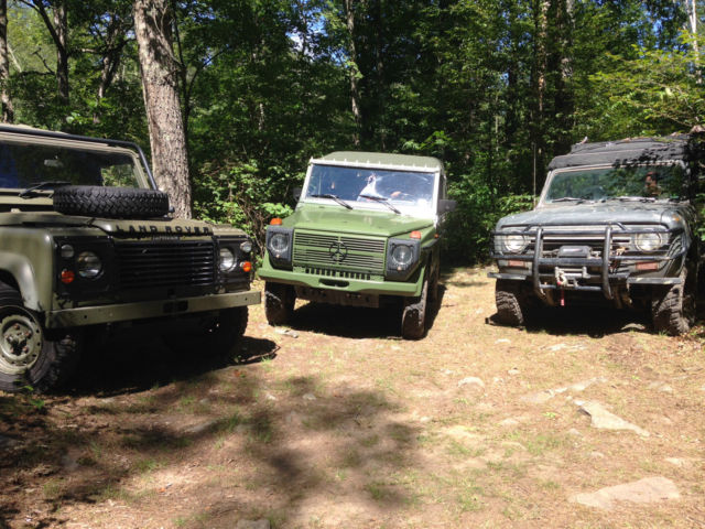 Land Rover Defender SUV 1985 Nato Green For Sale