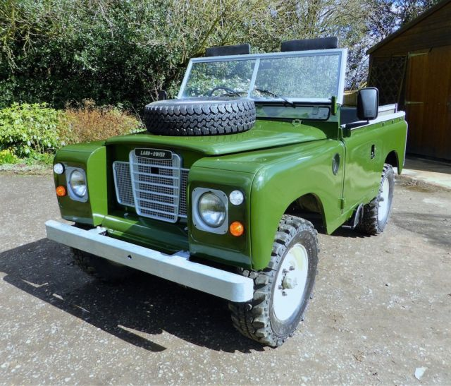 Land Rover Defender SUV 1985 Green For Sale