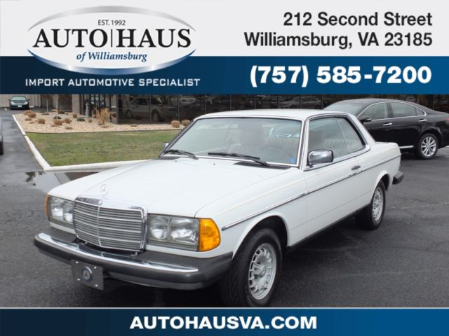 Mercedes-Benz 300-Series Coupe 1985 White For Sale