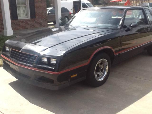 Chevrolet Monte Carlo 1985 Black For Sale  1G1GZ37G2FR105662 1985