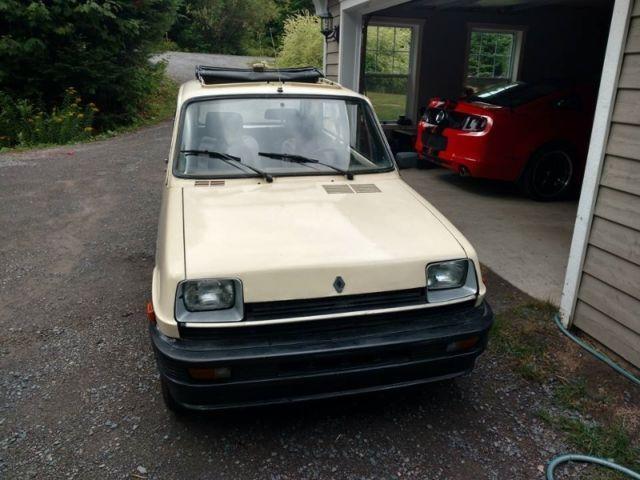 renault 5 le car hatchback 1985 white for sale vf1aa22b2f0010984 1985 renault 5 gtl. Black Bedroom Furniture Sets. Home Design Ideas