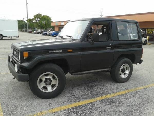 Full Floating Axle >> Toyota Land Cruiser SUV 19850000 Black For Sale ...