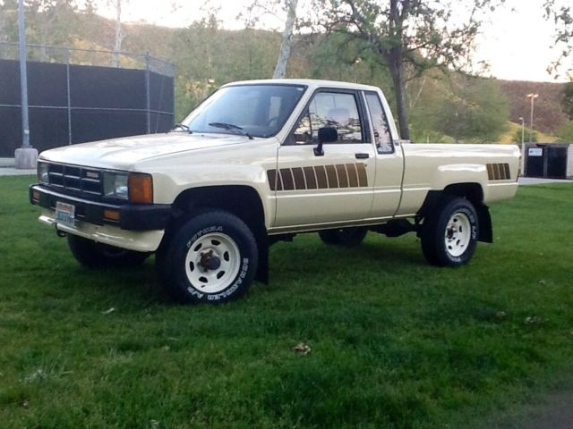 toyota other extended cab pickup 1985 tan for sale jt4rn66sxf5049772 1985 toyota pickup sr5. Black Bedroom Furniture Sets. Home Design Ideas