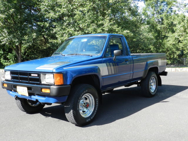 toyota other standard cab pickup 1985 blue for sale jt4ln68d3f5002037 1985 toyota sr5 pickup. Black Bedroom Furniture Sets. Home Design Ideas