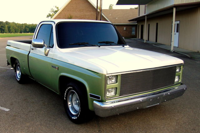 Used Cars For Sale In Louisiana >> Chevrolet C-10 PICK UP TRUCK 1986 white pearl mint green For Sale. 1GTEC14C7CJ518922 1986 6.0L ...