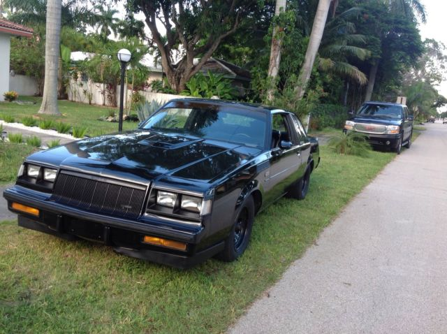 buick grand national coupe 19860000 black for sale 1g4gj47a7gp458360 1986 buick regal grand. Black Bedroom Furniture Sets. Home Design Ideas