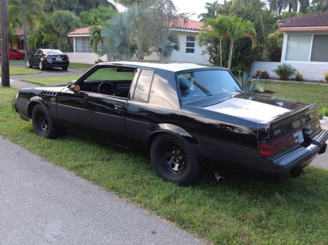 Buick Grand National Coupe 19860000 Black For Sale