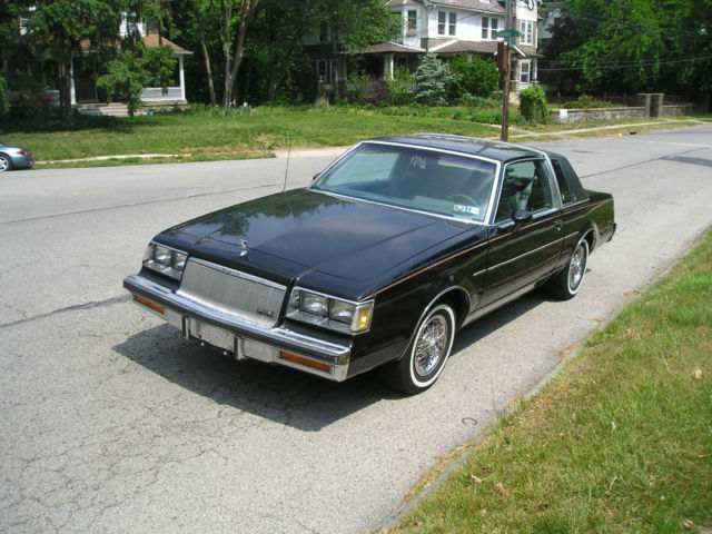 Buick Regal Coupe 1986 Black For Sale 1g4gm47y5gp433316