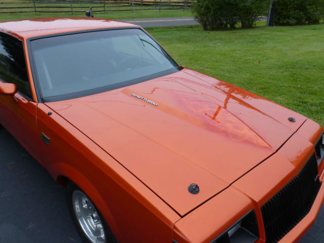 Buick Grand National Coupe 1986 Orange For Sale