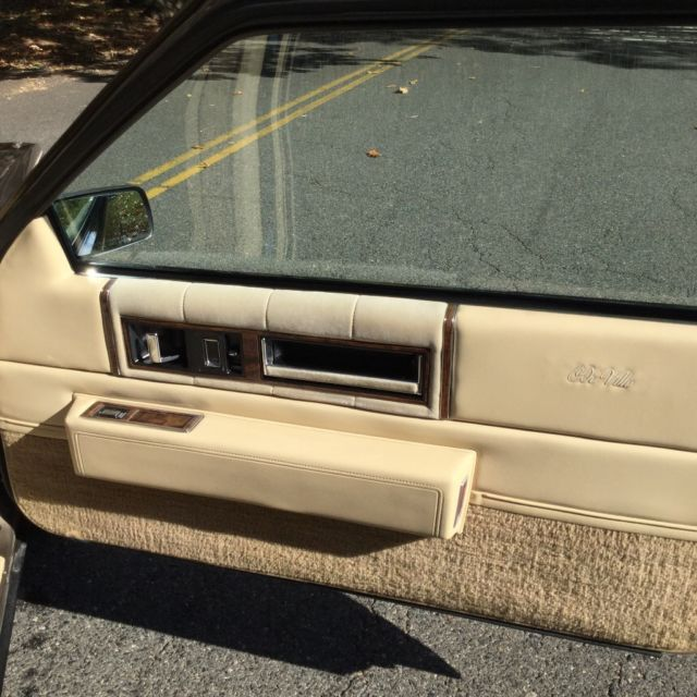 Cadillac DeVille Coupe 1986 Gold For Sale