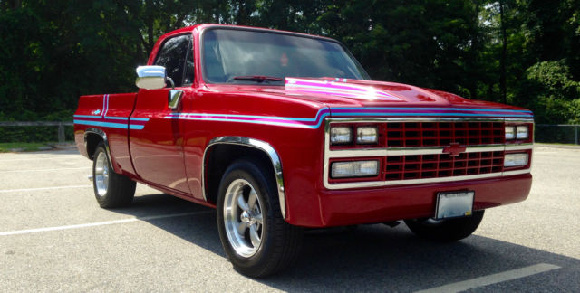 Chevrolet C 10 Pickup 1986 Deep Cherry Red Pearl Coat For