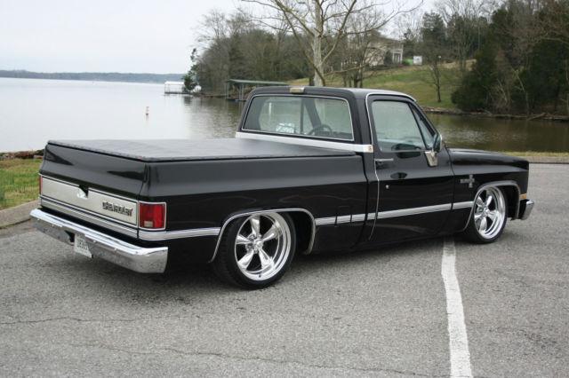 Chevrolet C-10 Standard Cab Pickup 1986 Black For Sale ...