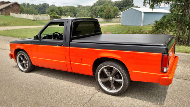 chevrolet s 10 truck 1986 black for sale 1gcbs14e9g2192984 1986 chevy s10 v8 small block one of. Black Bedroom Furniture Sets. Home Design Ideas