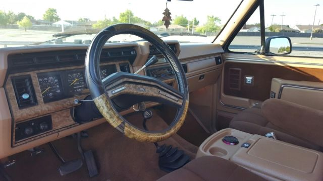 Ford Bronco SUV 1986 Blue / Tan For Sale ...