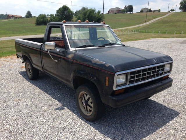 ford ranger truck 1986 black for sale 1ftcr11e36u863165. Black Bedroom Furniture Sets. Home Design Ideas